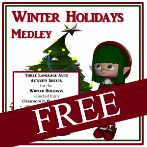 Winter Holidays Medley FREE -sq