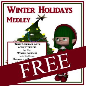 Winter Holidays Medley FREE -sq