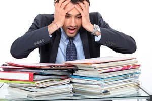 bigstock-Stressed-teacher-28408682