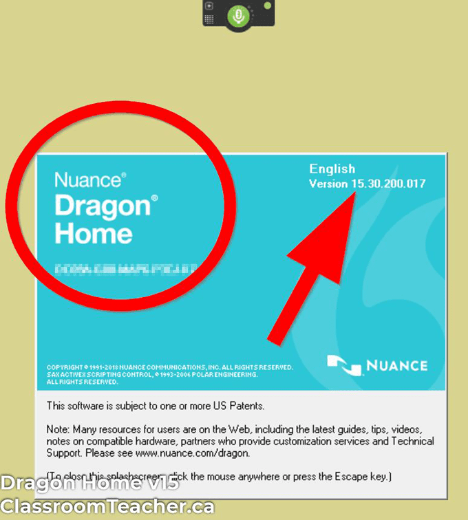 Use Dragon Speak Naturally - Screenshot of Nuance Dragon Home 15 product info for Dragon Home vs Professional 15 review