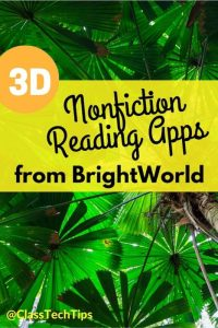 3D Nonfiction Reading Apps from BrightWorld