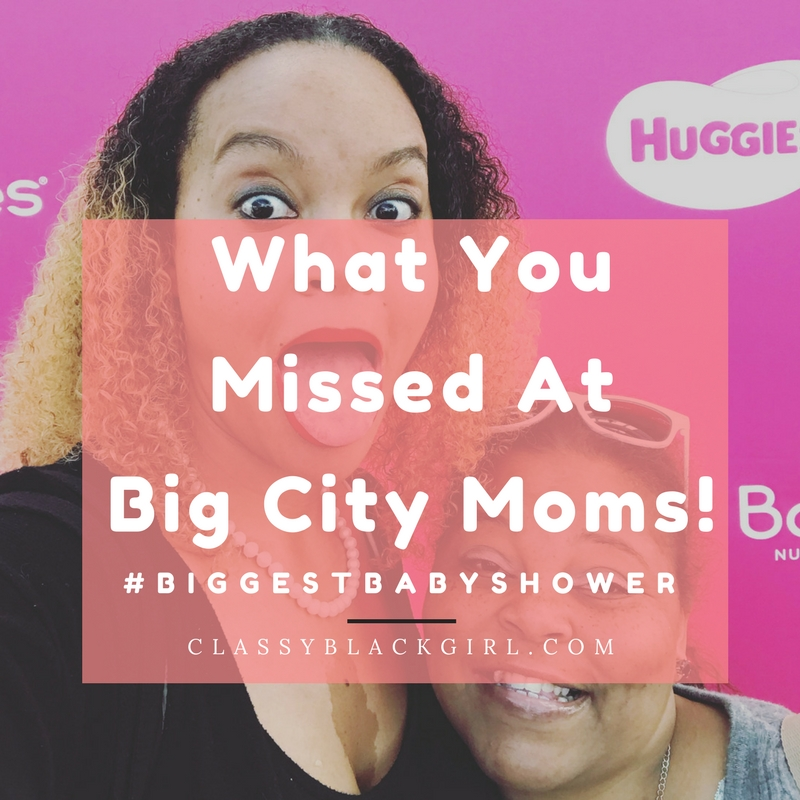 Big City Moms Hero Classy Black Girl #biggestbabyshower