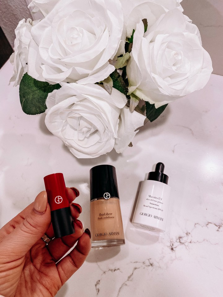 Best Christmas Gift | Style blogger Emerson Hannon of Classycleanchic shares Best Christmas Gift: Giorgio Armani Beauty from Nordstrom