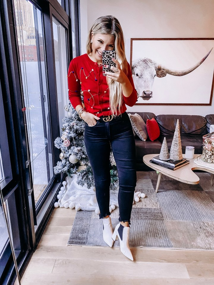 Best Ugly Christmas Sweaters | Style blogger Emerson Hannon of Classycleanchic shares Best Ugly Christmas Sweaters