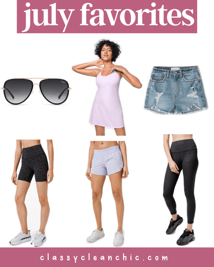 July Favorites + Weekend Sales | Style blogger Emerson Hannon of Classycleanchic shares July Favorites + Weekend Sales