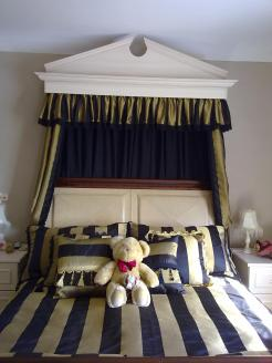 Bedding and bed tester drapes