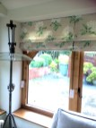 Laura Ashley fabric as Roman Blinds