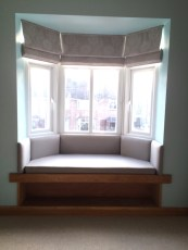 Window seat_Roman Blinds_Bay window_01