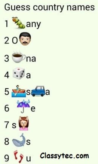 WhatsApp puzzle