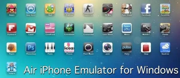 air iphone emulator for windows pc