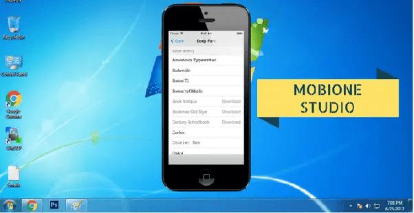 mobione studio ios emulator for windows