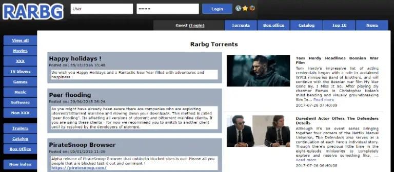 rarbg torrent proxy sites