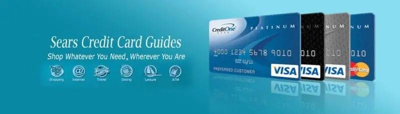 Sears Credit Card Guide Header Image