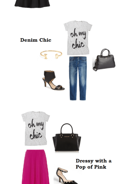 3 Ways to Wear a Graphic Tee