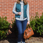Teal Quilted Vest & $25 Mint Julep Boutique Giveaway