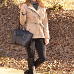Trendy Wednesday Link Up #8: Stripes and a Trenchcoat