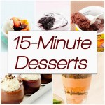 Mix It Up Friday link up #8: 15-Minute Desserts
