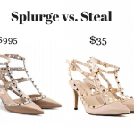 Trendy Wednesday Link-up #33: Splurge vs. Steal – Valentino heels