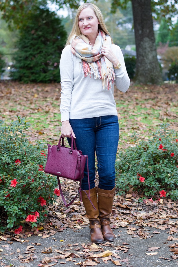 plaid blanket scarf 5