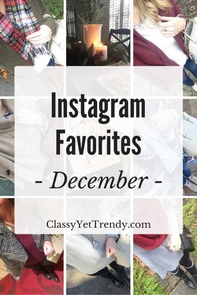 Instagram Favorites: December