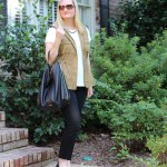 Black, White & Olive (Trendy Wednesday Link-up #87)