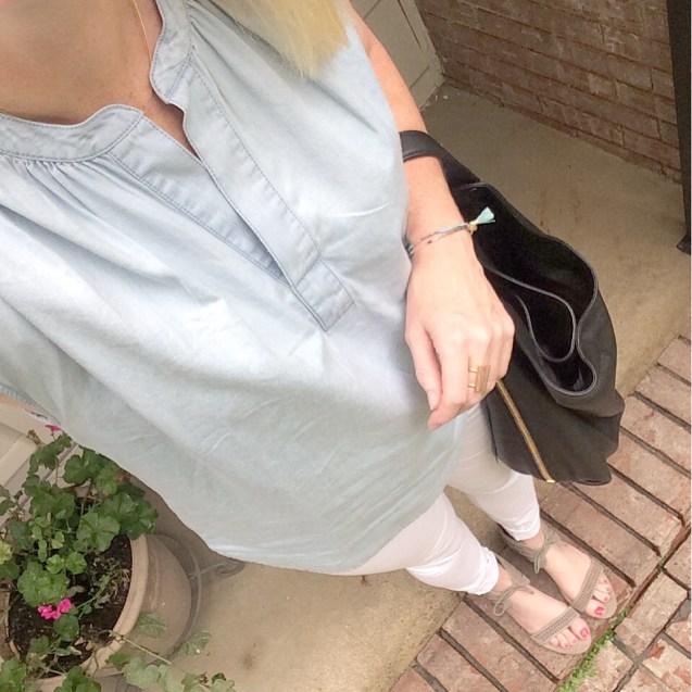 chambray shirt instagram 2