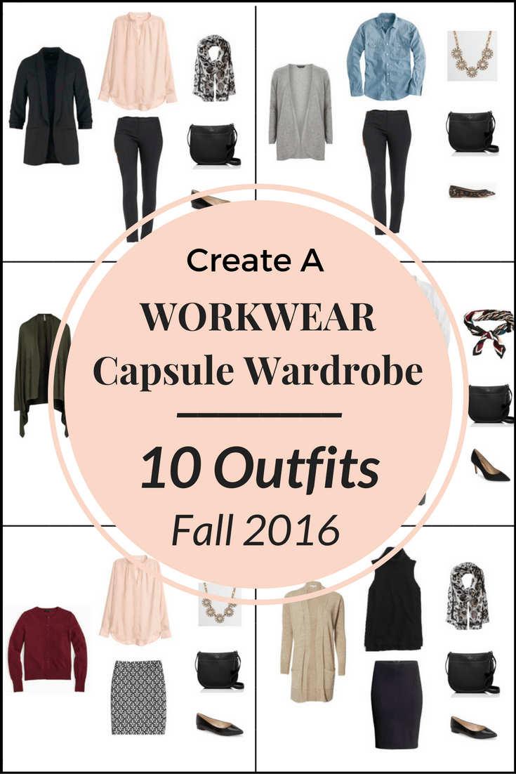 Create A WORKWEAR Capsule Wardrobe On A Budget: 10 Fall