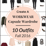 Create a WORKWEAR Capsule Wardrobe On a Budget: 10 Fall Outfits
