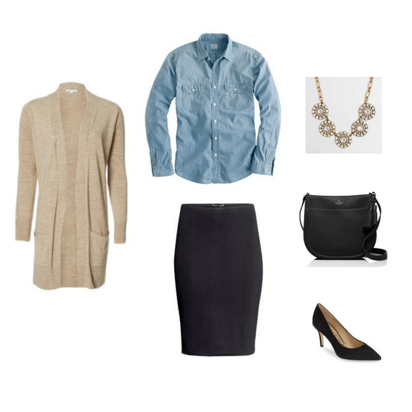 The Workwear Capsule Wardrobe: Fall 2016 Collection Outfit 4