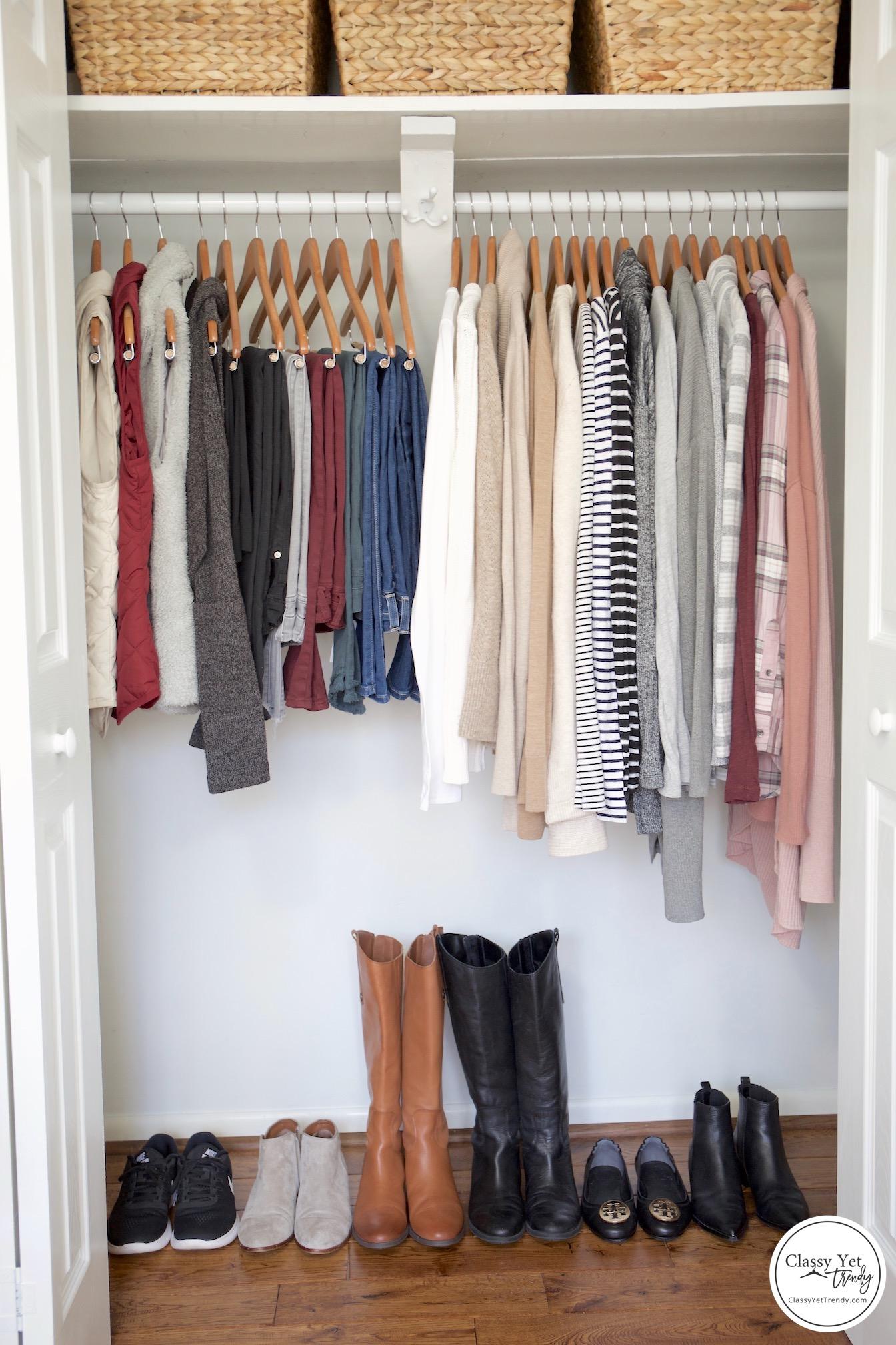 My 29 Piece Winter 2018 2019 Capsule Wardrobe Classy Yet