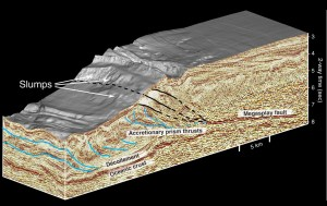 Spectacular 3D seismicreflection images of a subduction
