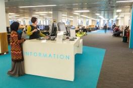 Information Desk (Reid Library)