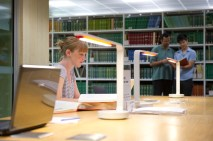 Silent Study Zone (Science Library)