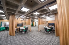 Gardens Point Library level 5 and 6 refurbishments