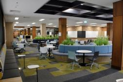 Auchmuty Library Information Commons Learning Lounge