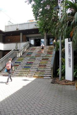 Auchmuty Library Stairs