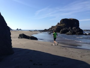 Beach Running Clatsop County