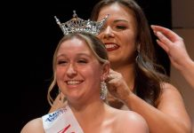 Miss Clatsop County 2018 Haylie Moon Crowning