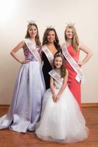 Miss Clatsop County crownholders 2017