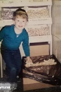 Schwietert's Cones and Candy vintage photo