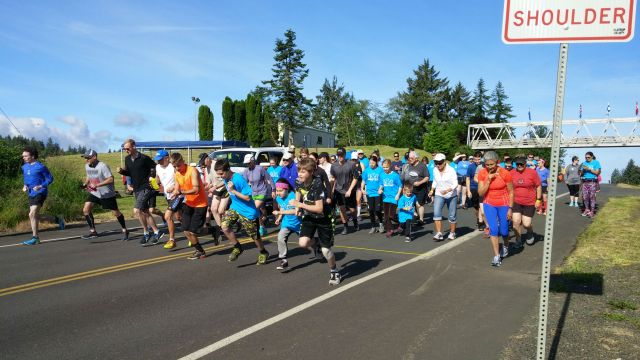 Clatsop County Fun Runs Running of the Trolls