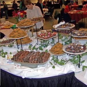 A Sweet Affaire buffet