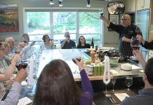 EVOO Cannon Beach Cooking School returning customers