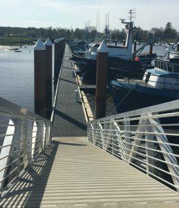 Warrenton Marina F Dock gangway
