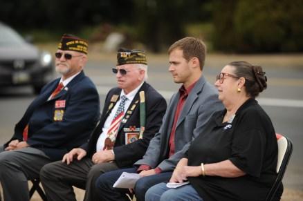 Senator Betsy Johnson, Mayor Henry Balensifer, VFW Leader Leroy Dunn_resize