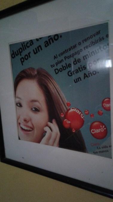 Claro advertising