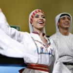 طاقات ابداعية فلسطينية تتوهج في مهرجان القدس للفنون الشعبية