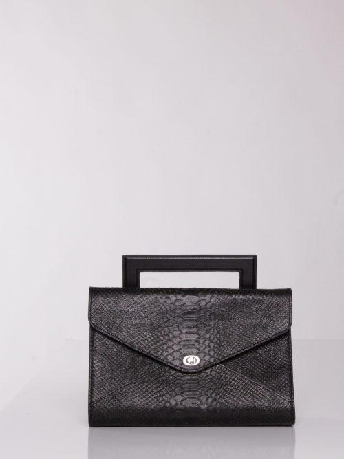 """Sac de Soiree ""Envelopebag"" "" black purse for cocktail dress"""