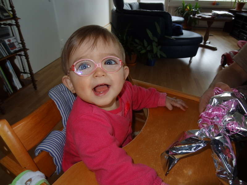 Laura Marias 1. Geburtstag