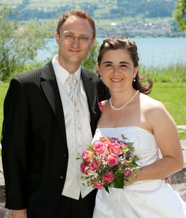 Hochzeitsfoto von Claudia und Mathias